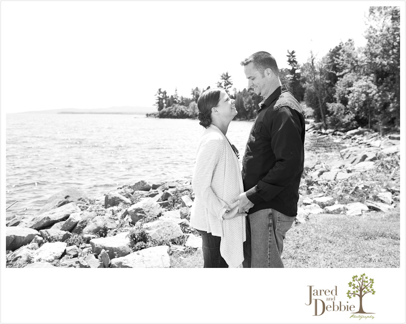 The love between parents captured during a family portrait session in Plattsburgh NY