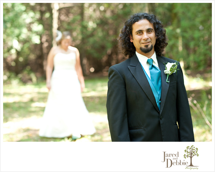 Backyard wedding in Chazy NY by Jared and Debbie Photography