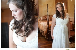 Bride at Valcour Conference Center in Peru NY by Jared and Debbie Photography
