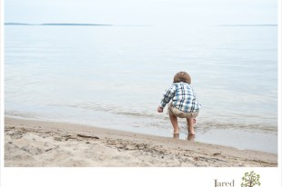 Beach Family Portrait Session in Port Kent NY by Jared and Debbie Photography