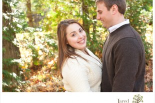 Fall engagement session in Lake Placid by Jared and Debbie Photography