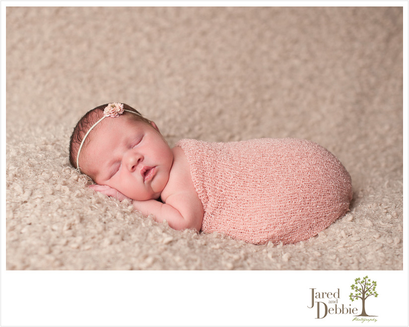 Newborn session with Jared and Debbie Photography