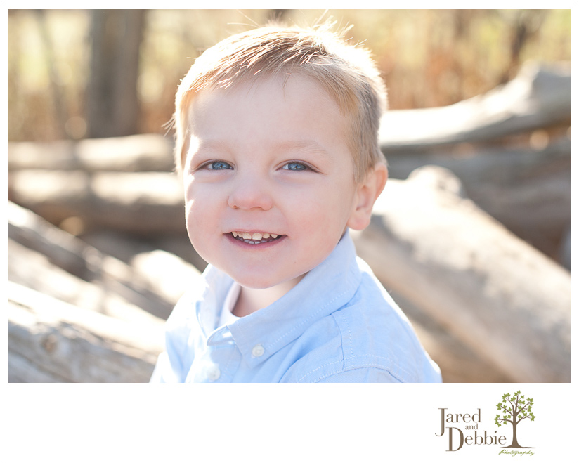Little boy photo session with Jared and Debbie