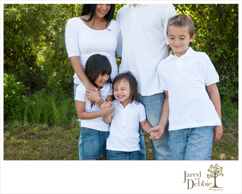 Family session with Jared and Debbie Photography