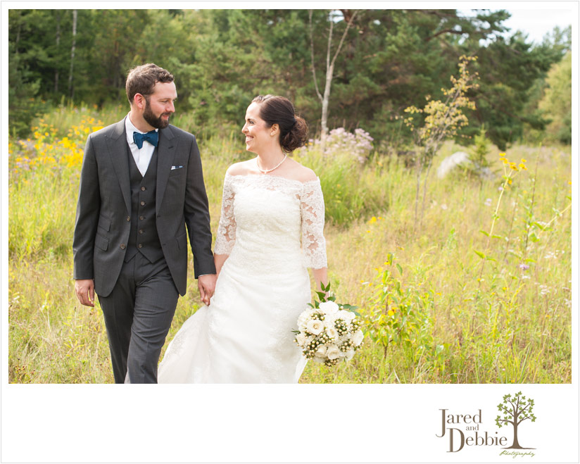 Tupper Lake Wild Center Wedding photographed by Jared and Debbie
