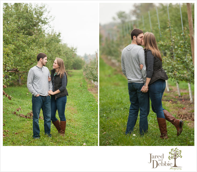 Pumpkin Patch Apple Orchard Engagement session