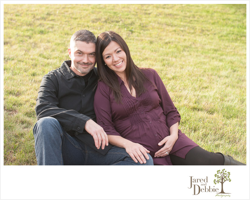 Pregnancy Photos with Jared and Debbie