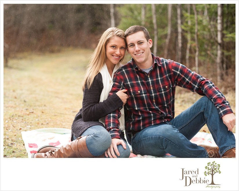 John Brown Farm Engagement Session with Jared and Debbie Photography