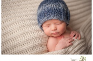 Baby boy during session with Jared and Debbie Photography