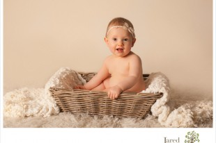 Baby in a Basket by Jared and Debbie Photography
