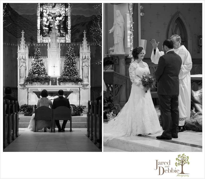 St Agnes Church Wedding Lake Placid NY