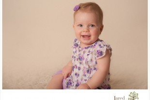 One year old portrait session with Jared and Debbie