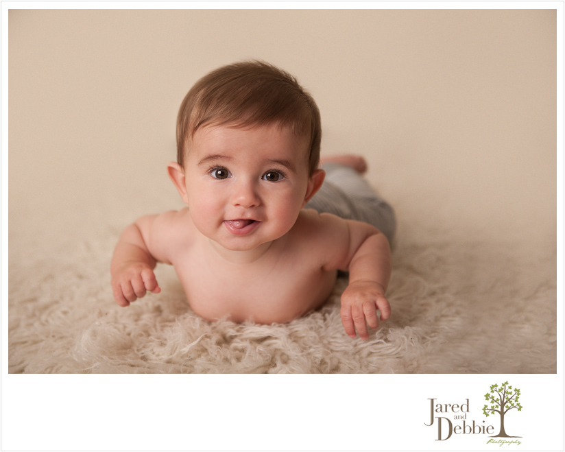 Baby Boy during session with Jared and Debbie