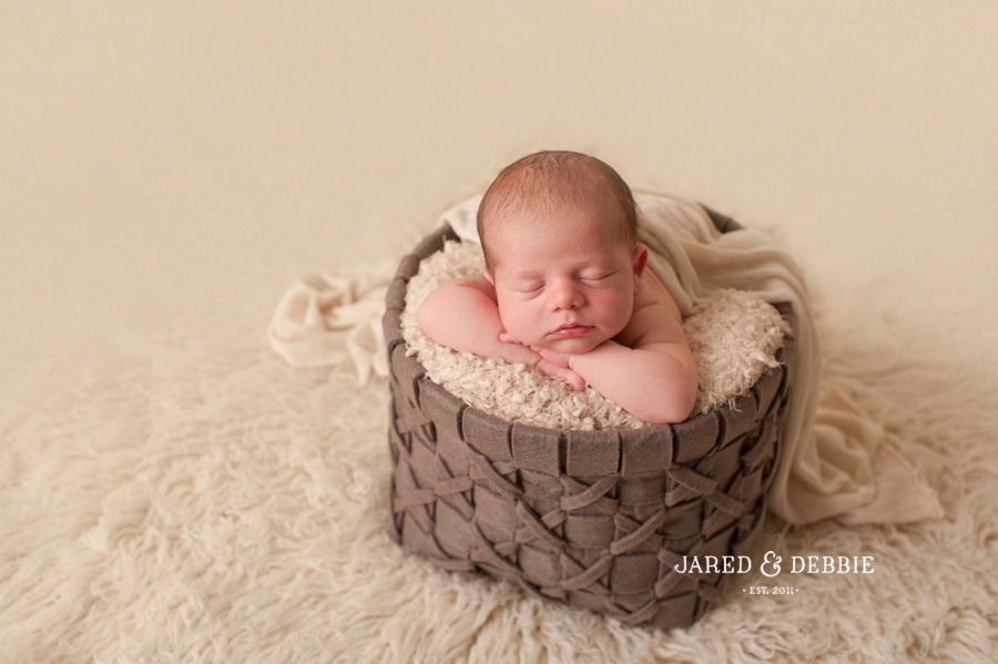 Baby Boy during newborn session