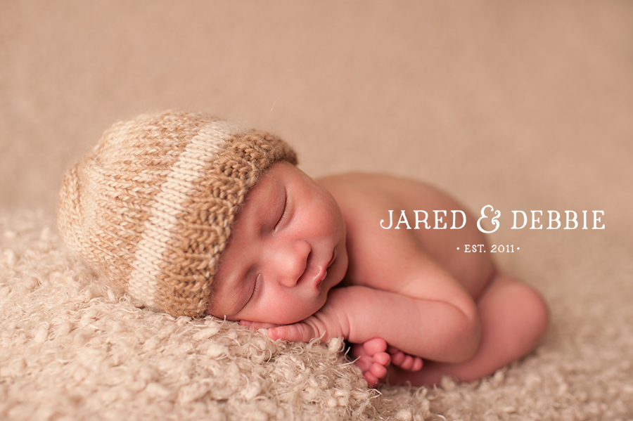 Baby Boy during newborn session with Jared and Debbie